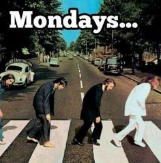 The worst. #Beatles #Monday #humor