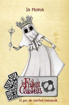 #CROWDFUNDING #VALENCIA #MASCLETA #FALLAS #FALLERA #ZOMBI #JOC #JUEGO - Carta La Moma de La Fallera Calavera d'Enric Aguilar: el joc de cartes valencià. Un joc d'estratègia en valencià destinat a tots els públics que parodia elements del nostre folklore, cultura popular i mitologia. falles falla valencia fallera zombi zombie mascleta Crowdfunding Verkami http://www.verkami.com/projects/7153-fallera-calavera