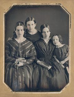 Daguerreotype- A process introduced in It was the first photographic process to become popular and widespread. This photo is a Daguerreotype taken in the mid