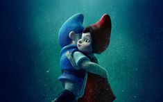 Download wallpapers Gnomeo and Juliet 2, 2018 movie, 3D-animation, Gnomeo and Juliet Sherlock Gnomes
