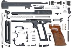 Illustrated parts break down for a M 41