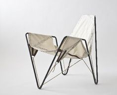 Trimmer is a reused sail chair from   dvelas.com