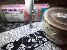 """Have you noticed that the fabric industry tantalizes us by using """"foodie"""" terms to cleverly package their latest collections, like """"jelly rolls"""" and """"layer cakes? Quilting Blogs, Machine Quilting Patterns, Quilting Board, Longarm Quilting, Free Motion Quilting, Quilting Tutorials, Quilting Projects, Quilting Designs, Quilt Patterns"""