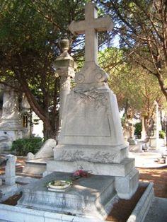 Edmond Rostand, cimetière St Pierre de Marseille