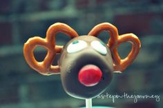 Reindeer Marshmallows OR Reindeer Cake-pops Xmas Food, Christmas Sweets, Christmas Goodies, Christmas Candy, Winter Christmas, All Things Christmas, Christmas Holidays, Christmas Crafts, Christmas Ideas
