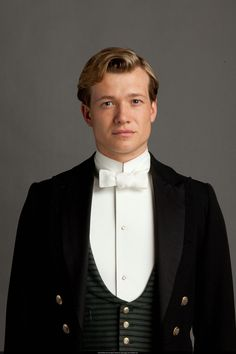 Jimmy Kent, the new footman, is played by the lovely Ed Speleers.