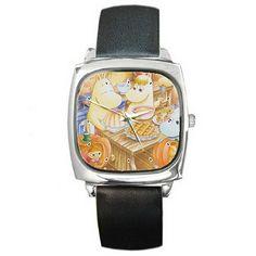 Hombres Relojes de pulsera WGA259 Moomin ultimate leather wrist watch: Amazon.es: Hogar