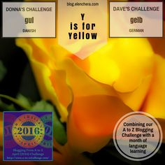 A to Z Blogging Challenge: Y is for Yellow #atozchallenge