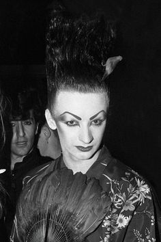 (Boy) George O'Dowd - Blitz Club (1980) by Graham Smith