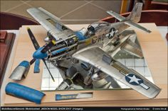P51 Mustang 1/32 Scale Model