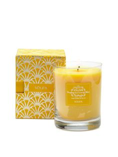Soleil Candle by Voluspa on Gilt Home