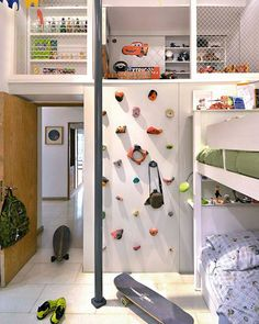 Trendy Bedroom Ideas For Small Rooms Diy Kids Trendy Bedroom, Kids Bedroom, Kids Rooms, Bedroom Loft, Bedroom Wall, Bedroom Furniture, Ideas Dormitorios, Kids Room Design, Design Bedroom