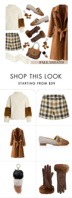 """Cozy Fall Sweater'"" by dianefantasy on Polyvore featuring Saks Potts, Alice + Olivia, Alexandre Birman, Jocelyn, Barneys New York, MICHAEL Michael Kors, polyvorecommunity, polyvoreeditorial and fallsweaters"