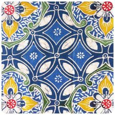 This beautiful piece has been handprinted in the traditional wax resist batik process