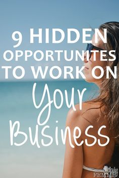 Don't you wish you had more time to work on your business? Sadly we can't add more hours to our day but we can make the most of the pockets of time we have.