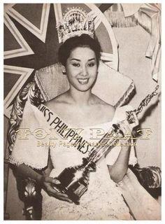 Gemma Teresa Cruz -- 1964 Miss International Winner (First in Asia)