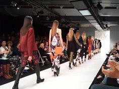 N.Z. Fashion Week Andrea Moore Show, Bianca Fallon Media Makeup Fashion & Beauty Writer  www.mediamakeup1.com