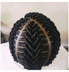 Brazilian Wool Hairstyles, African Natural Hairstyles, Braided Hairstyles For Black Women, African Braids Hairstyles, Braids For Black Hair, Hair Twist Styles, Natural Hair Bun Styles, Twa Styles, Cornrows Natural Hair