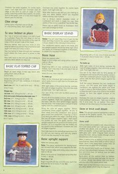 Free ISSUU PDF download tool online | Vebuka.com Free Aran Knitting Patterns, Teddy Bear Knitting Pattern, Animal Knitting Patterns, Christmas Knitting Patterns, Free Knitting, Knitting Toys, Knitted Nurse Doll, Knitted Dolls Free, Knitted Doll Patterns
