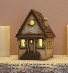Clay House #7 | Harry Tanner Design Nite light lamp