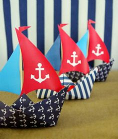 Nautical Party Printables Supplies