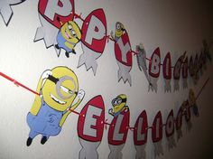 YES! It is so hard to find any minion or Despicable Me party decorations!