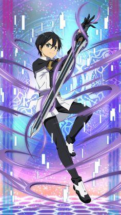 Watch anime online in English. Sao Anime, Anime W, Anime Boys, Kirito Kirigaya, Kirito Asuna, Kirito Sword, Sword Art Online Kirito, Arte Online, Online Art