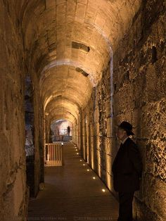 Below the Western Wall . Jerusalem