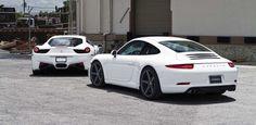 White 2012 Porsche 911 on Vossen Wheels [Photo Gallery]