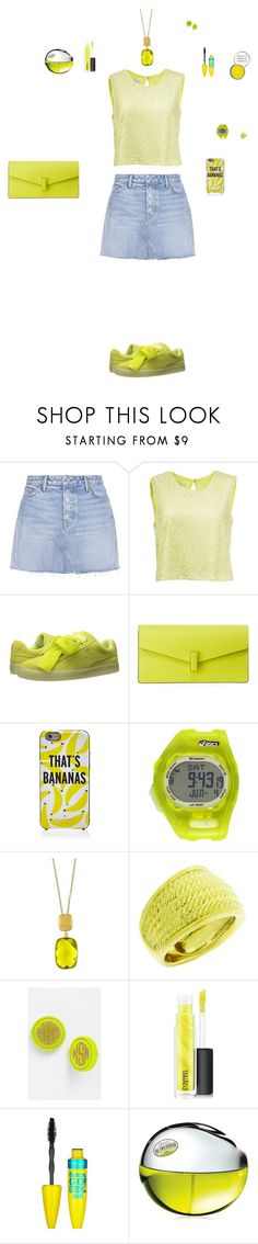 """Untitled #85"" by mayashmila ❤ liked on Polyvore featuring GRLFRND, Puma, Valextra, Kate Spade, Asics, Effy Jewelry, David Yurman, Moon and Lola, MAC Cosmetics and Maybelline"