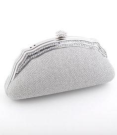 Silver Evening Bag