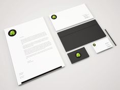 Stationery or branding mockups are great for showcasing a complete corporate identity. This retro, minimalistic and high quality PSD mockup contain business card, envelope, letterhead and pen. Mockups Gratis, Carta Formal, Letterhead Design, Brochure Design, Letterhead Business, Business Stationary, Stationary Design, Office Branding, Office Logo