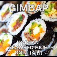 - Korean Sushi Roll How to make Gimbap - Korean Sushi Roll with burdock roots!How to make Gimbap - Korean Sushi Roll with burdock roots! Sushi Recipes, Salmon Recipes, Asian Recipes, Cooking Recipes, Copycat Recipes, Recipes Dinner, Meat Recipes, Healthy Recipes, K Food