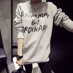 Anything But Ordinary Hoodie #Colorize #ColorizeFashion