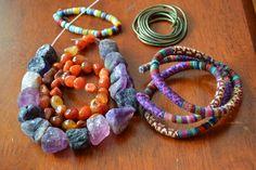 Get ideas for where to by your own jewelry supplies with this list of vendors.
