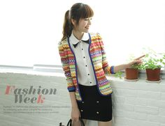 wholesale fashion chic strip sweater    $11.14 from www.wholesaleitonline.com