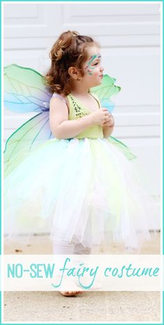 How to make a no sew fairy costume from MichaelsMakers Sugar Bee Crafts