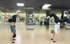 And they just got MORE attractive....how?! Oh wait. THEY'RE BREAKDANCING.