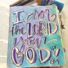 #valeriedoodlesthebible #illustratedfaith Scripture Art, Bible Art, Bible Scriptures, Scripture Journal, Art Journaling, New Bible, Faith Bible, Bible Doodling, Graffiti