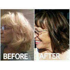 Before and After by Malorie Norrdin #ClippingsHairDesign