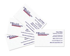 ArachnidWorks, Inc. | Melco business cards #ArachnidWorks  #PrintAdvertising #GraphicDesign
