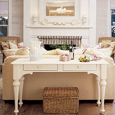 Love the table, would look great with my brown couches
