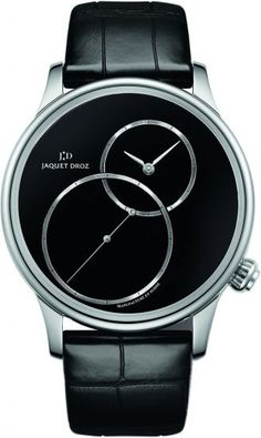 Stainless steel Grande Seconde, from £9,400, Jaquet Droz