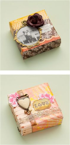 How to Make a Mini Canvas