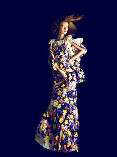 Kasia Struss by Nico///Harper's Bazaar Spain February 2012