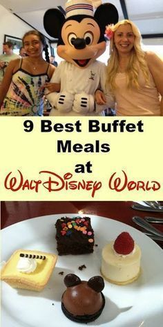 Love all-you-care-to-eat meals at Walt Disney World? Here's our 9 top buffet meal picks for delicious meals and fun atmosphere.