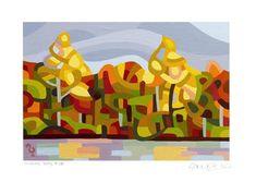 "Daily Paintworks - ""Landscape Study #28"" - Original Fine Art for Sale - © Mandy Budan"