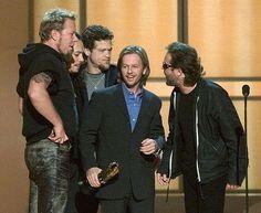 Metallica with David Spade