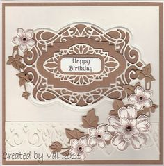 #creativeexpressions #suewilson Greek Island and New York Collection Craft Die Ivy Trailing
