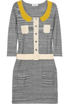 Sonia by Sonia Rykiel Belted Cotton Dress